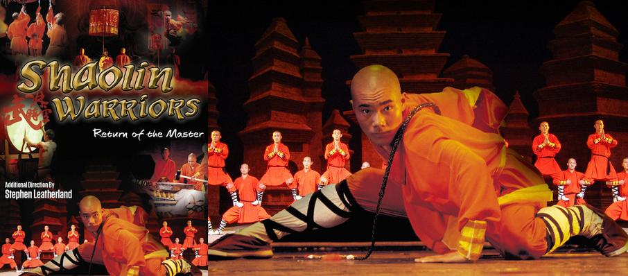 Shaolin Warriors at Sony Centre for the Performing Arts