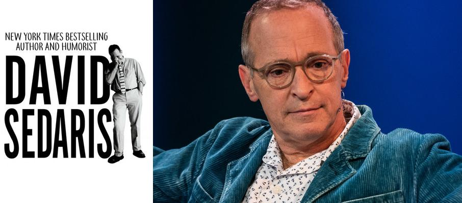 David Sedaris at Sony Centre for the Performing Arts