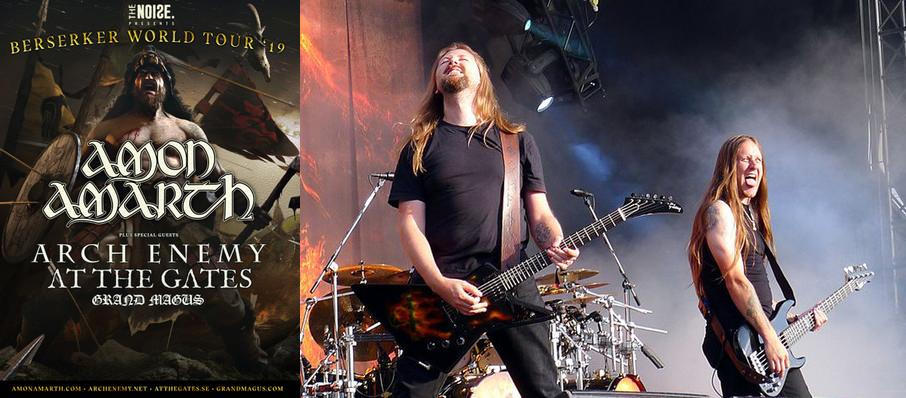 Amon Amarth at Rebel