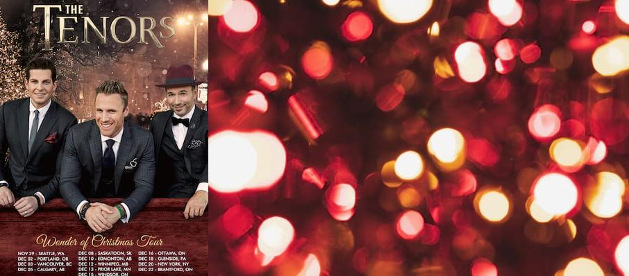 The Tenors at Sony Centre for the Performing Arts