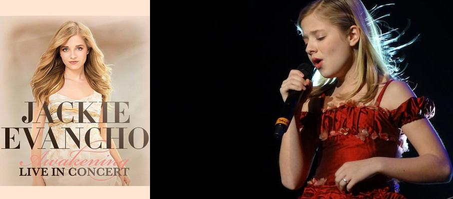 Jackie Evancho at Roy Thomson Hall
