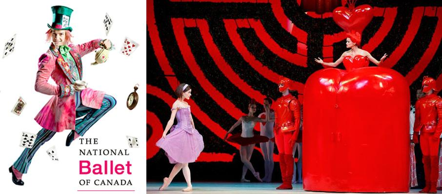National Ballet Of Canada: Alice's Adventures in Wonderland at Four Seasons Centre