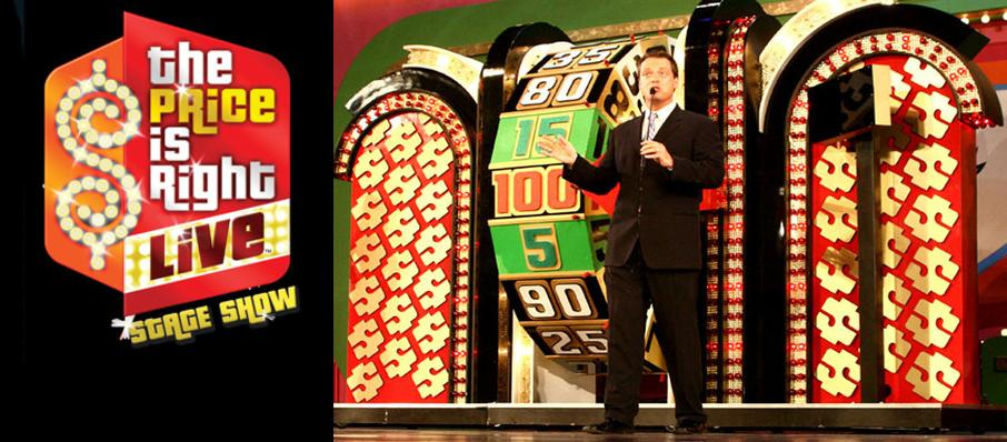 The Price Is Right - Live Stage Show at Yardmen Arena