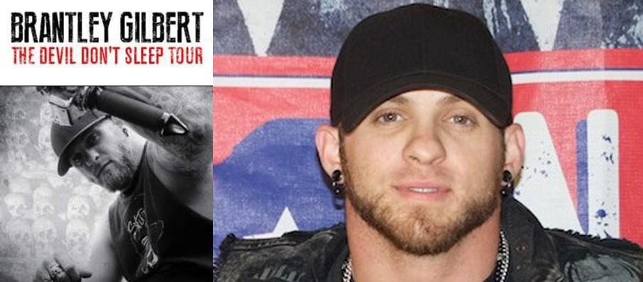 Brantley Gilbert at Tribute Communities Centre