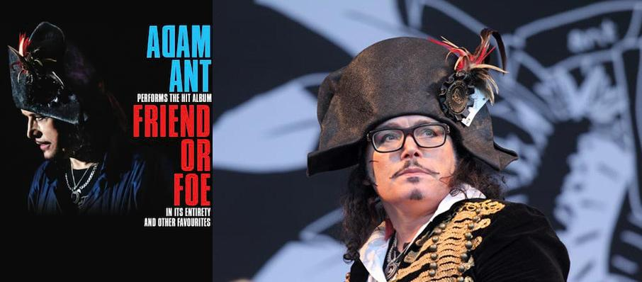 Adam Ant at Danforth Music Hall