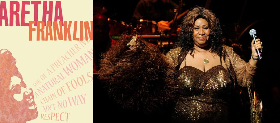 Aretha Franklin at Sony Centre for the Performing Arts
