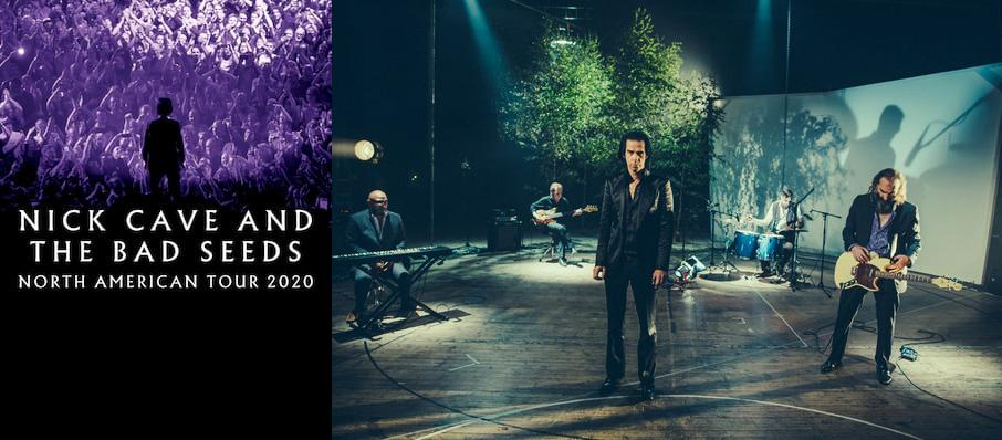 Nick Cave and The Bad Seeds at Scotiabank Arena