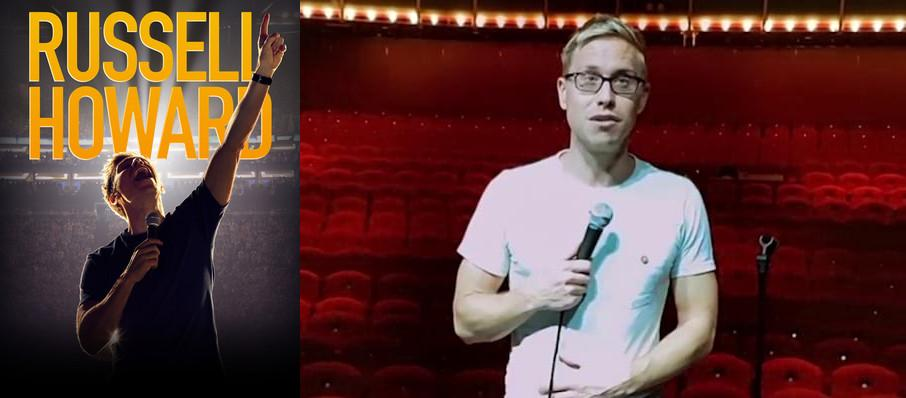 Russell Howard at Queen Elizabeth Theatre