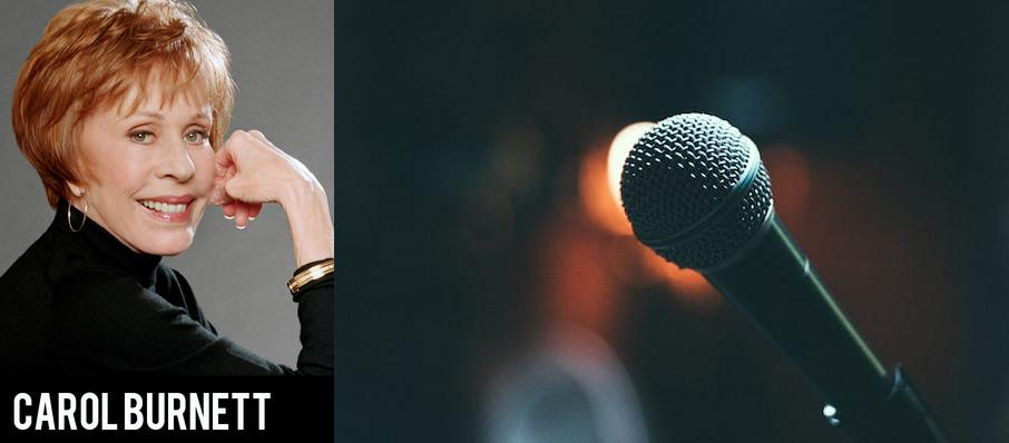 Carol Burnett at Sony Centre for the Performing Arts