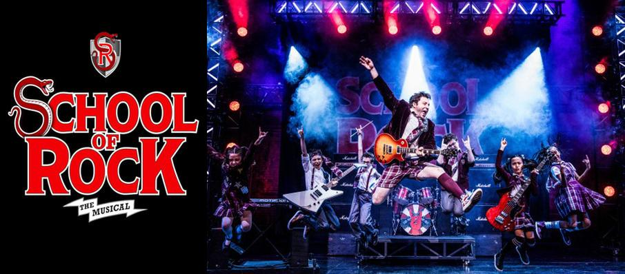School of Rock at Ed Mirvish Theatre