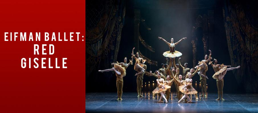 Eifman Ballet Of St. Petersburg: Red Giselle at Sony Centre for the Performing Arts