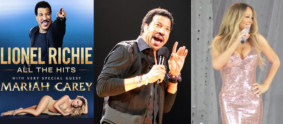 Lionel Richie with Mariah Carey at Air Canada Centre