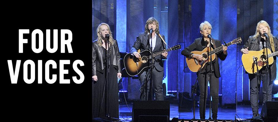 Four Voices - Joan Baez, Mary Chapin Carpenter and Indigo Girls at Massey Hall