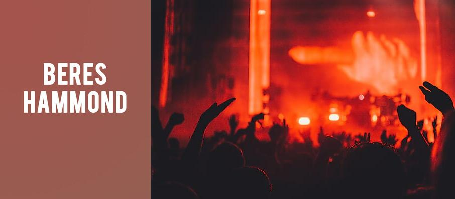 Beres Hammond at Massey Hall