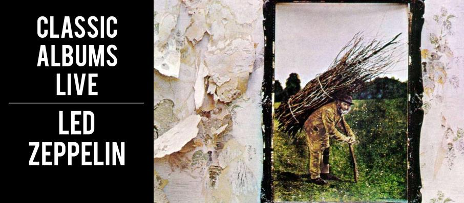 Classic Albums Live - Led Zeppelin IV at Massey Hall