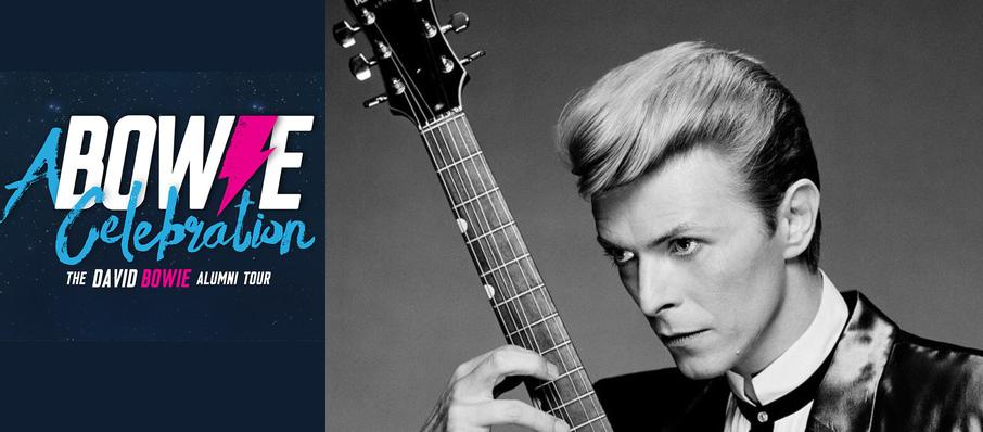 A Bowie Celebration - The David Bowie Alumni Tour at Danforth Music Hall