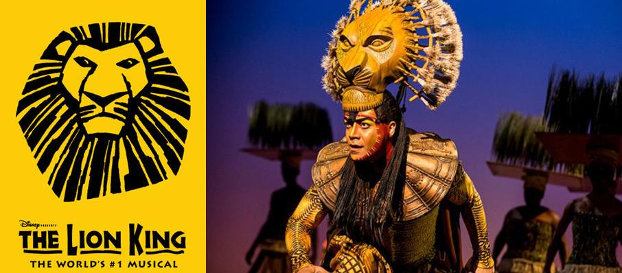 The Lion King at Princess of Wales Theatre