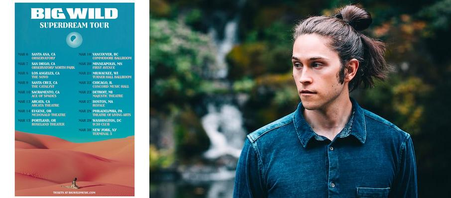 Big Wild at Danforth Music Hall