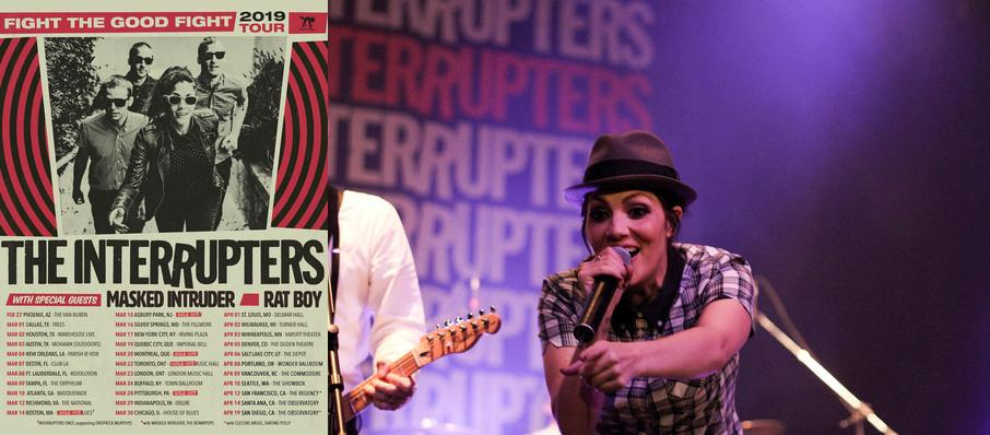The Interrupters at Rebel
