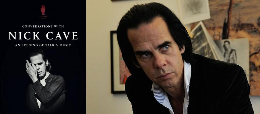 Conversations with Nick Cave at Convocation Hall