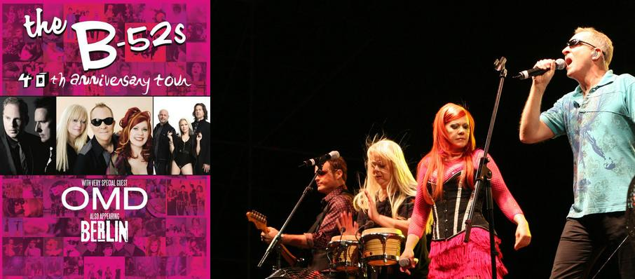 B-52s with OMD and Berlin at Sony Centre for the Performing Arts