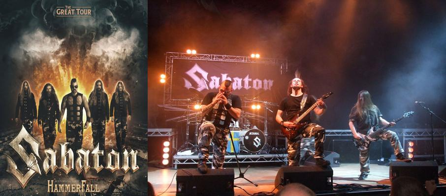 Sabaton at Danforth Music Hall