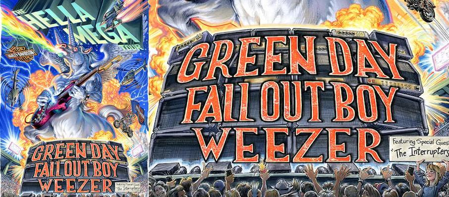 Green Day with Fall Out Boy and Weezer at Rogers Centre