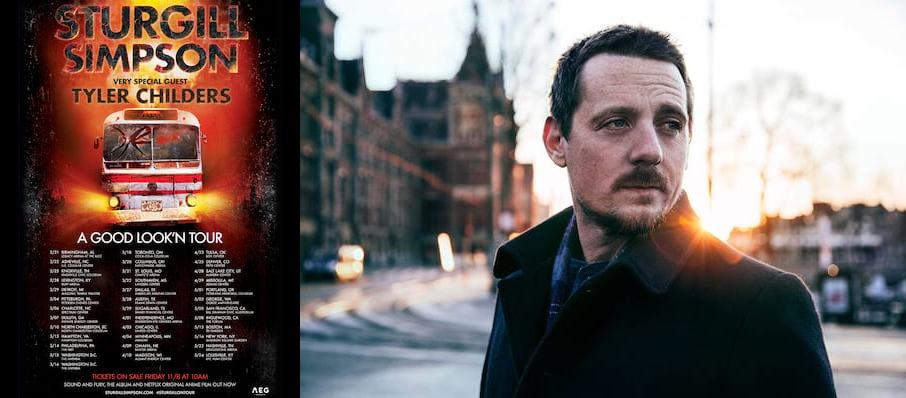Sturgill Simpson With Tyler Childers at Coca-Cola Coliseum