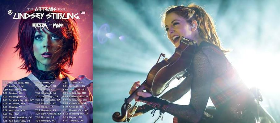 Lindsey Stirling at Budweiser Stage