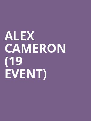 Alex Cameron (19+ Event) at Phoenix Concert Theatre