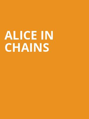 Alice In Chains at Massey Hall