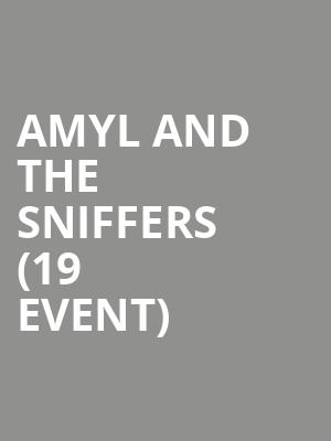 Amyl and The Sniffers (19+ Event) at Velvet Underground