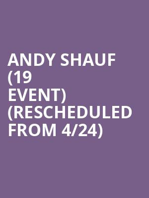 Andy Shauf (19+ Event) (Rescheduled from 4/24) at Danforth Music Hall