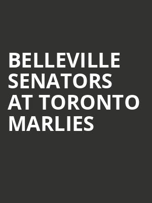 Belleville Senators at Toronto Marlies at Scotiabank Arena