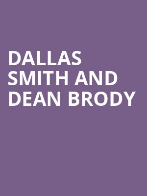 Dallas Smith and Dean Brody at Budweiser Stage
