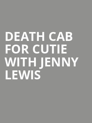 Death Cab for Cutie with Jenny Lewis at TD Echo Beach at Molson Canadian Amphitheatre