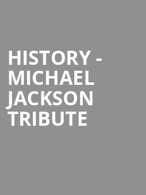 HIStory - Michael Jackson Tribute at Sony Centre for the Performing Arts