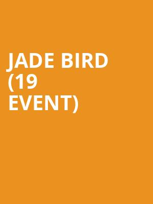 Jade Bird (19+ Event) at Mod Club Theatre