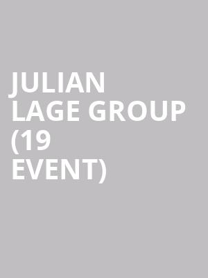 Julian Lage Group (19+ Event) at Mod Club Theatre