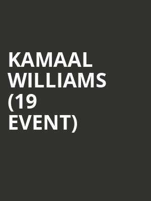 Kamaal Williams (19+ Event) at Mod Club Theatre