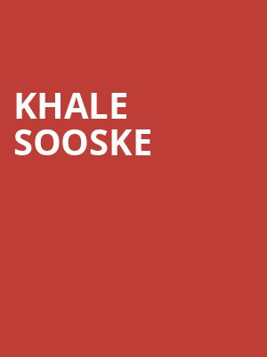 Khale Sooske at St. Lawrence Centre for the Arts