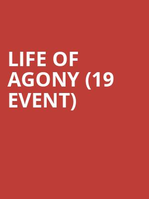 Life of Agony (19+ Event) at Mod Club Theatre