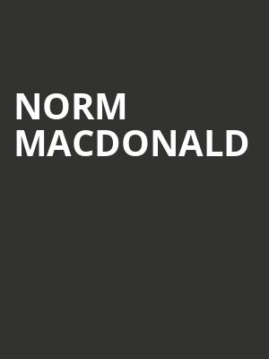 Norm Macdonald at Phoenix Concert Theatre