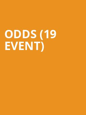Odds (19+ Event) at Horseshoe Tavern