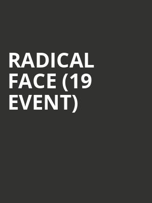 Radical Face (19+ Event) at Mod Club Theatre