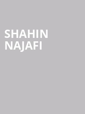 Shahin Najafi at Bluma Appel Theatre