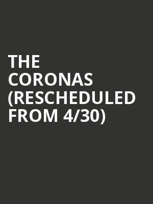 The Coronas (Rescheduled from 4/30) at Mod Club Theatre
