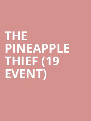 The Pineapple Thief (19+ Event) at Mod Club Theatre