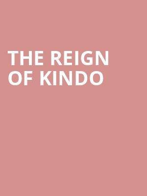 The Reign of Kindo at Hard Luck Bar