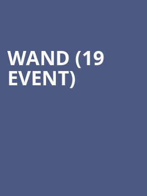 Wand (19+ Event) at Horseshoe Tavern